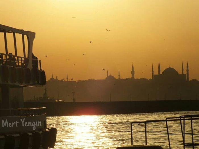 Kadıköy Iskelesi Sea Mosque Boat Ride