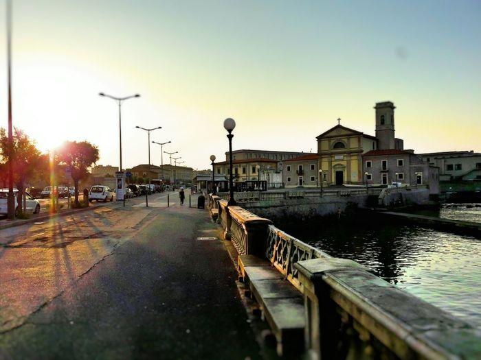 Livorno Italy Morning