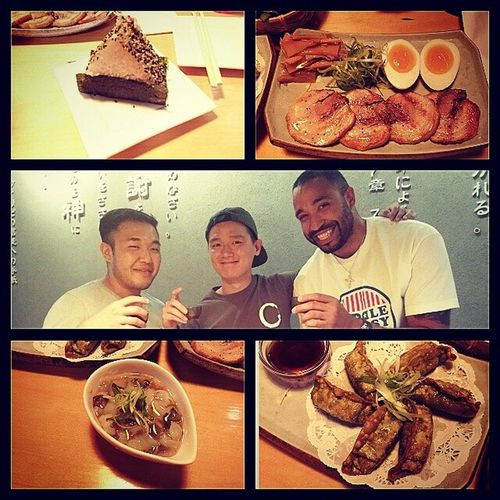 Had a great time with these to guys right here. If you are craving ramen and you are in the Astoria area go check out Kim's ramen place. Food is always on point and you couldn't ask for a better person to own such a great place. Then you have Joe only on Sundays but he will make you laugh. Great guys and good times. Go check them out. Nycalive NYC Foodie Foodoverload foodporn ramen astoria goodtimes goodfriends goodpeople goodfood laughs @ramenokidoki kani vegetablegoyza takowasabi onigiri cha_syuzara ny nightlife soju korean sake japanese letsdoitagain