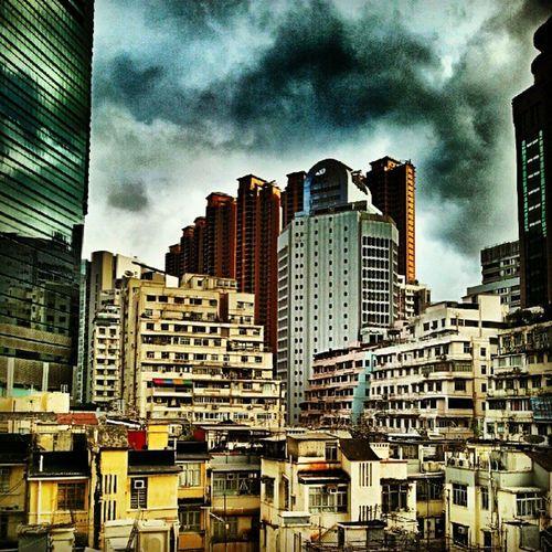Eclectic buildings of Hk Onlyinhk HongKong