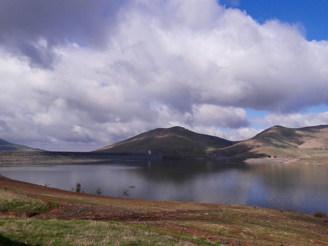 Lake Mountains And Sky Overcast Rain Clouds Dam Water Hot Spring Mountain Lake Power In Nature Volcanic Landscape Fog Heat - Temperature Steam Salt - Mineral