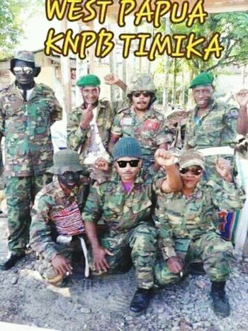 Military Military Uniform Army Soldier Standing West Papua Want To Free Of Indonesia Colonial. Papua Free Of Indonesia Colonial Patriotism West Papua Flag West Papua Politic Of Freedom West Papua People Countrylife Social Issues