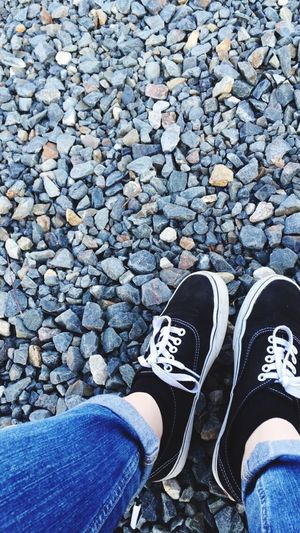 Calculus Shoes ♥ Vans Off The Wall Jeans Sun