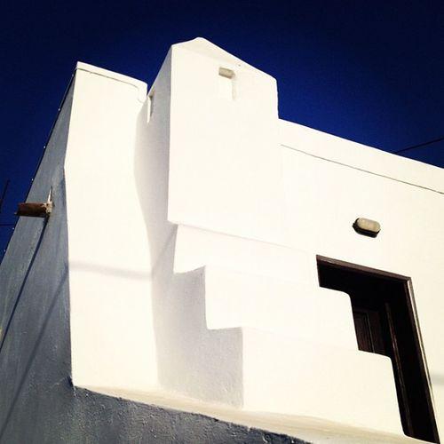 Greek architecture detail in Crete