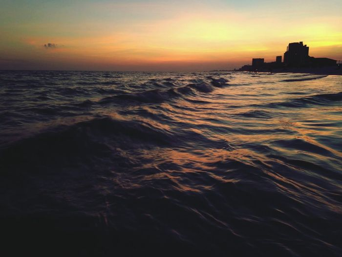 High by the beach 🎧😍 High By The Beach Lana Del Rey Destin  Florida Beach Waves IPhoneography Sunset Summer Views Vacation