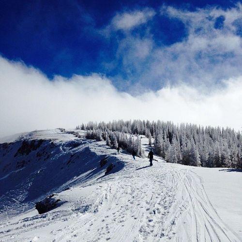 my brother took this today Snowboarding at Wolfcreek Colorado Snow mountain skiing rockymountains sky skyporn trees pagosasprings