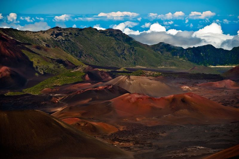 Landscape Scenics Mountain Nature Sky Mountain Range Outdoors Aerial View No People Beauty In Nature Mountain Ridge Day Hawaii Maui