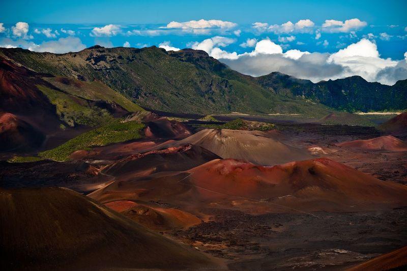 Scenic view of maui island