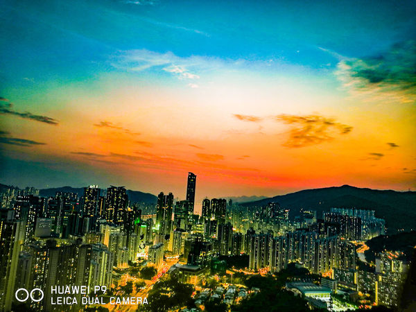 Huawei P9 Leica Smartphonephotography Dual Camera 華為p9 Landscape Hong Kong Nightphotography Nightlife Sunset Evening Sun Evening Evening Sky