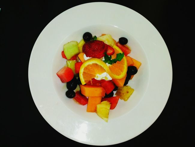 Fruit Salads Portrait Photography - Food Stories Fruit Healthy Eating Food And Drink Strawberry Food Freshness Kiwi - Fruit Dessert Raspberry No People Sweet Food Variation Directly Above SLICE Indoors  Grape Blueberry Plate Healthy Lifestyle Grapefruit Pineapple🍍 Orange Melon In Mackay, Australia.