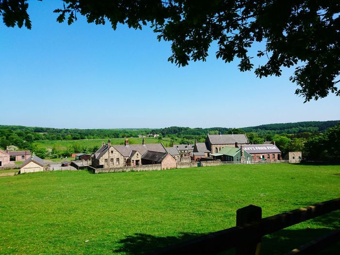 Village Countryside Country Life Pit Village Museum Attraction Green Rural Scene Nature On Your Doorstep Fields Grass Taking Photos Check This Out Hello World Beamish Museum, Co. Durham, UK.