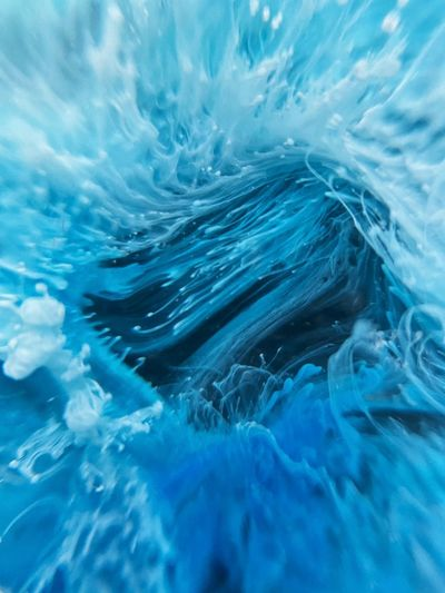 Full frame shot of swimming in sea