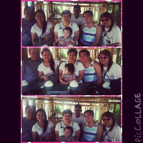 Happy 55th Birthday mommy. Birthdaylunch Isdaan Calauan Laguna PicCollage