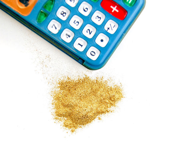 gold powder and calculator Business Button Fashion Gold Golden Calculation Calculator Calculator Machine Concept Digital Digital Art Fortune Gold Colored Gold Powder Keypad Mathematics Money Numbers Powder Vintage Wealth Wealthy Wealthy Living