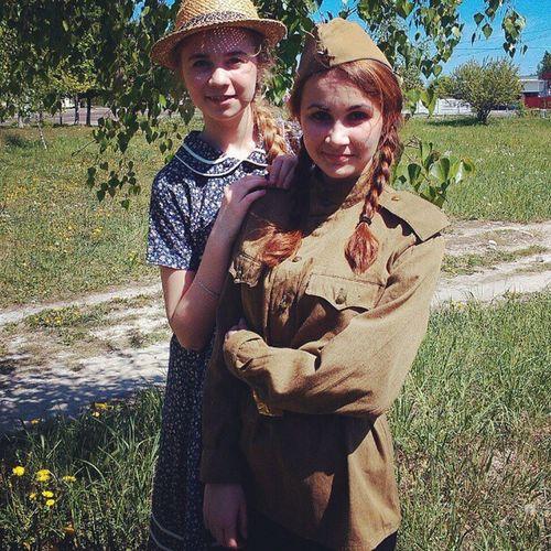фото Юля и я После концерта вов