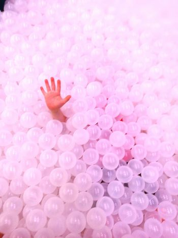 Close-up Fragility Indoors  Day Balls ballpit