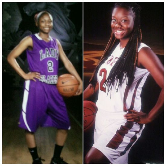 The number runs In the family , just like the ballers. . I love my cousin to death nd I look up to her and everyday I work hard because hard work pays off . Just like it did for her (college ball). I love you tori best point guard in my eyes !!!! #2