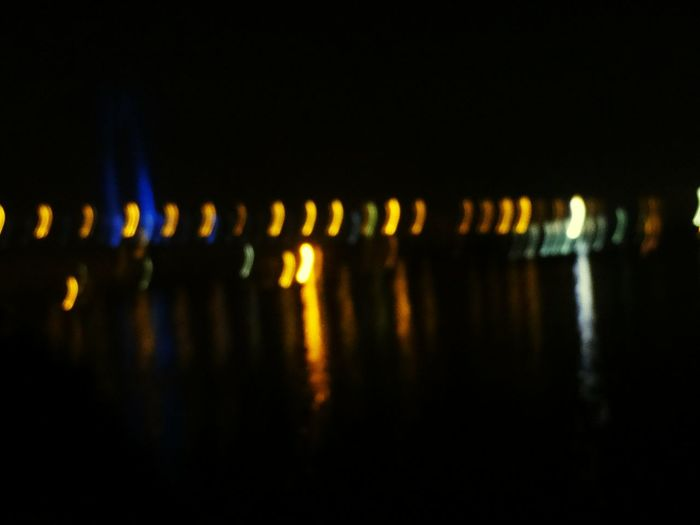 Capture The Moment Night Lights Riverbridge Fromtheboat Experimenting... Eyemindia Eyemkolkata Eyemdaily