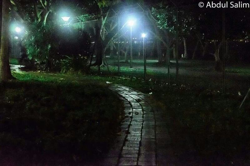 Pathways Pathway To My Secret Garden Garden Pathway Secretpathways Nightphotography Nightscape Nikon D7000 Singapore