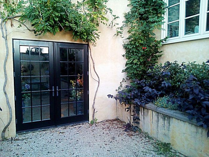 Building Exterior Built Structure Architecture No People Door Black Door Black Doors Doors With Windows Garden