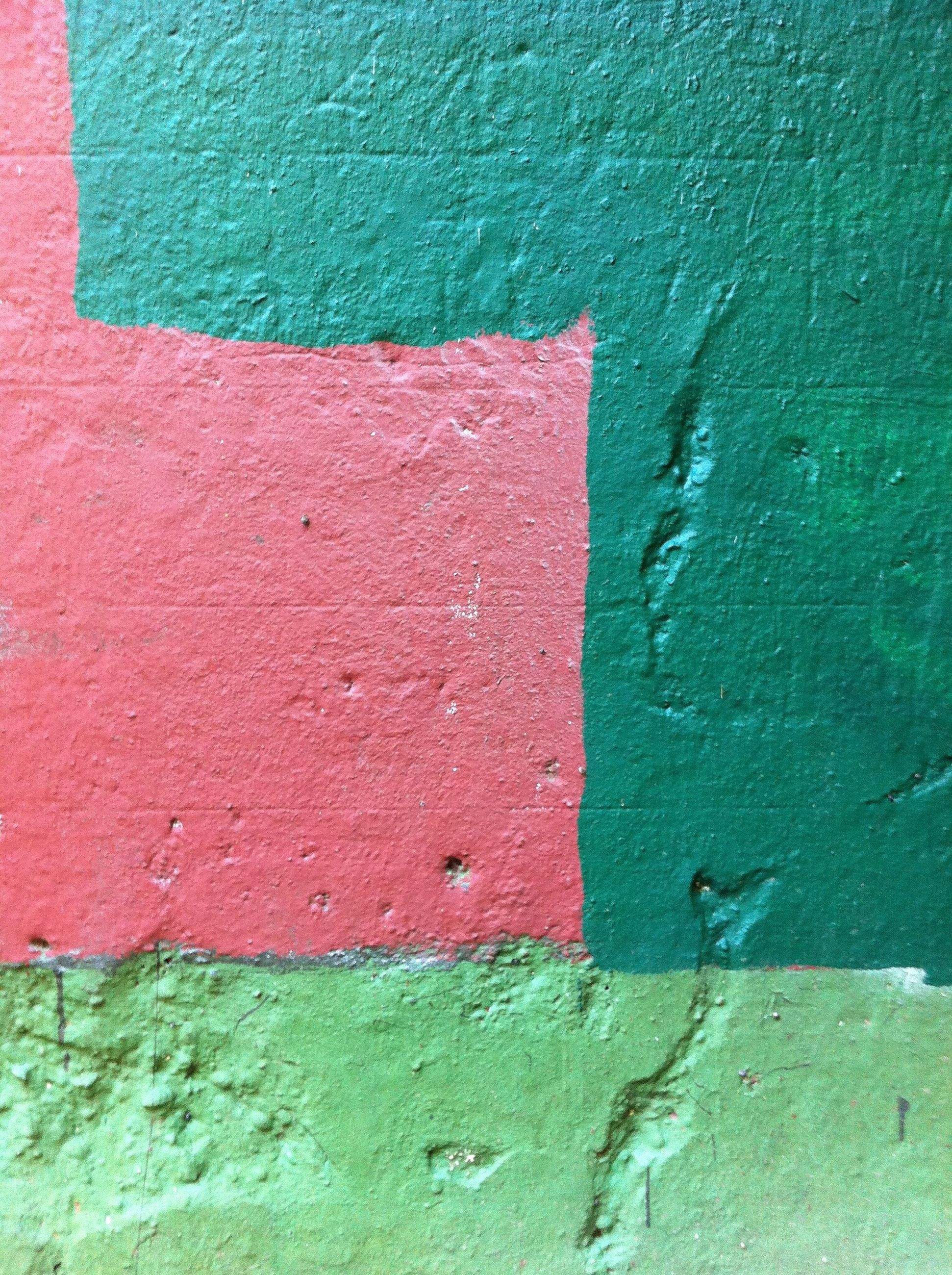 built structure, architecture, wall - building feature, weathered, textured, full frame, wall, building exterior, backgrounds, paint, old, close-up, red, door, peeling off, blue, pattern, peeling, damaged, green color