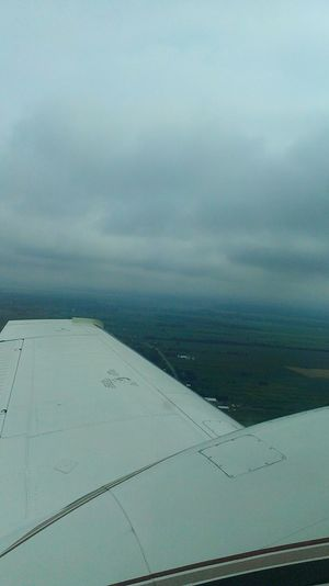 Un p'tit tour d'avion ✈ Sky And Clouds Plane Airplane Airport FirstTime Cool