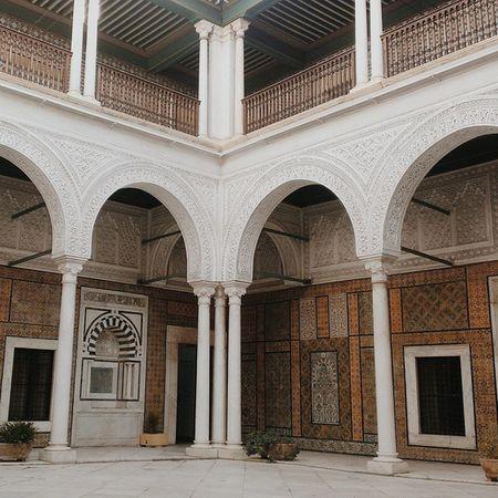L'Institut nationaldupatrimoine Dar Hussein Medina Tunisie igerstunisia lovetunisia livetunisia