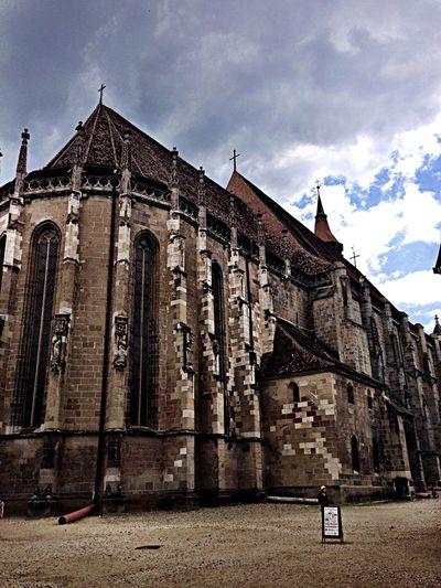 Blackchurch Gothic Cathedral Transilvanya