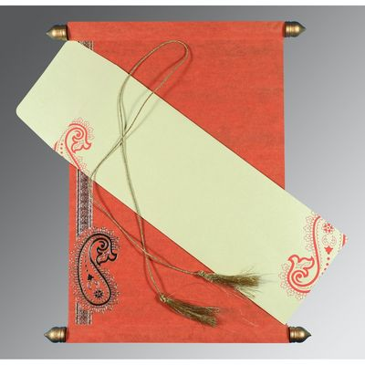 Scroll Wedding Invitations | SC-5015L | 123WeddingCards 123WeddingCards Scroll Cards Scroll Invites Scroll Wedding Cards Scroll Wedding Invitation Cards Scroll Wedding Invitations