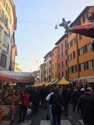 Home❤ Festa Del Patrono Fiera Di San Faustino 15 Febbraio Multi Colored City Sky