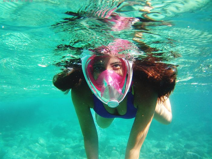 UnderSea Swimming Water Swimming Pool Underwater Scuba Diving Portrait Full Length Snorkeling Scuba Mask The Great Outdoors - 2018 EyeEm Awards Summer Sports Moments Of Happiness 2018 In One Photograph