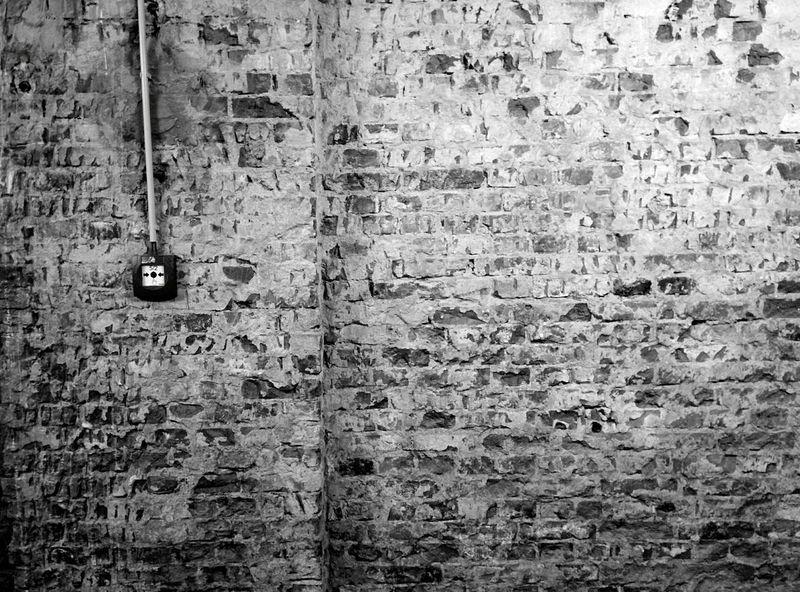 Day 353 - Wall minimalism Berlin Blackandwhite Wall Brick Wall 365project 365florianmski Day353