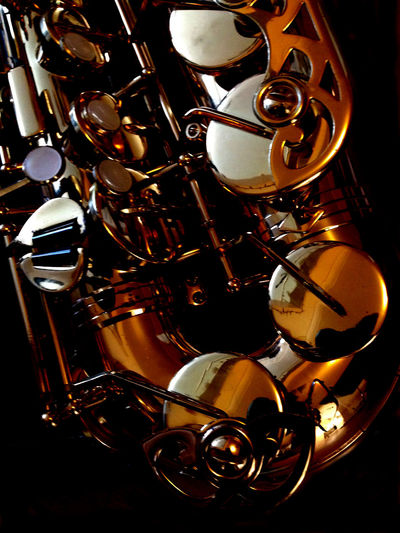 Abstract Alto Saxophone Scene Alto Saxophone Close-up Day Indoors  Jazz Music Metal Music Musical Instrument Musical Instruments No People Saxophone Saxophonelife Woodwind Instrument