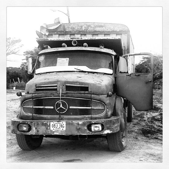 Mercedes Truck Venezuela Camion Yaracuy Bw_collection