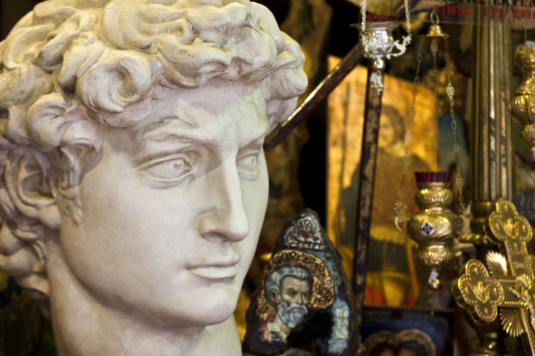 Contradictions! Alexander The Great Art Art And Craft Athens Carving - Craft Product Censer Close-up Craft Creativity Cross Focus On Foreground Gold Colored Theshoparoundthecorner Icons Market Orthodox Orthodoxy Religion Saints Sculpture Shopping Souvenirs Spirituality Statue Window