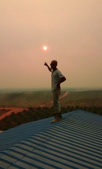 Jobs One Person People Sunset One Man Only Outdoors Only Men Standing
