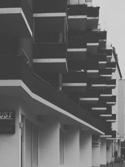 Monochrome / Black And White Urban Geometry / Urban Architecture