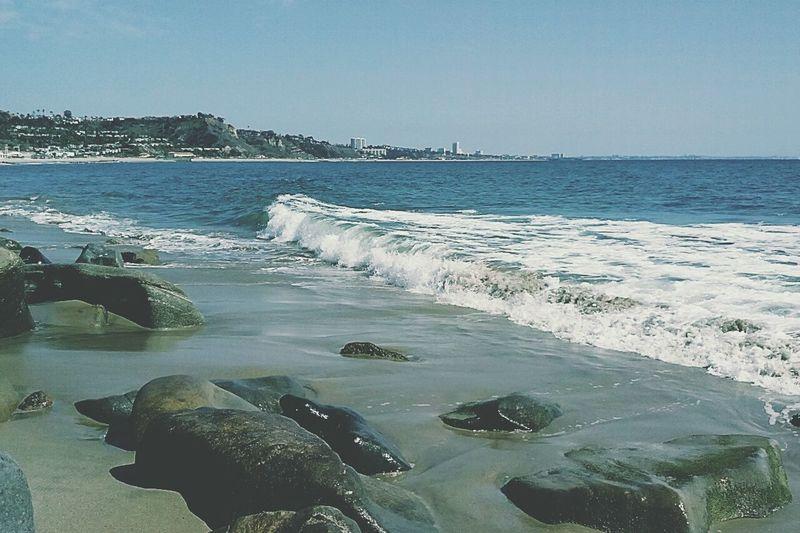 Malibu Beach Scenery Beach California