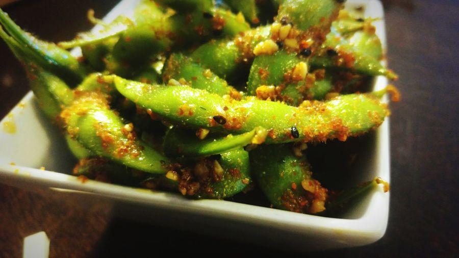 Chili Edamame Asian Food Japanese Food Foodphotography Foodgasm Foodporn Foodie Foods Foodstagram Foodshare