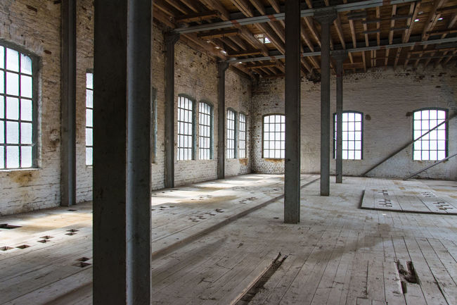 Industrial Architecture - 'Le Bon Grain' - Historical industrial bakery site Absence Architectural Column Architecture Built Structure Damaged Day Deterioration Empty Flooring Haine Saint Pierre - Belgium Historic Historical Historical Building Industrial Archeology Industrial Architecture Industrial Photography Interior No People Obsolete Old Run-down Showcase June The Secret Spaces The Architect - 2017 EyeEm Awards Premium Collection