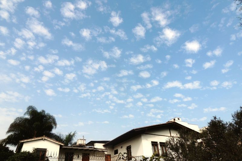 Architecture Building Exterior Built Structure Sky House Cloud - Sky Low Angle View No People Tree Day Outdoors Roof Nature EyeEmNewHere