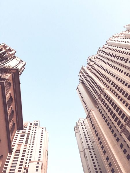 Sky Skyscrapers Architecture Urban Dubai IPhoneography
