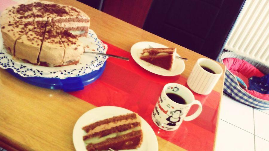 Kaffee und Kuchen mit Mama :) Enjoying Life Mama Ist Die Beste! KUCHEN♥