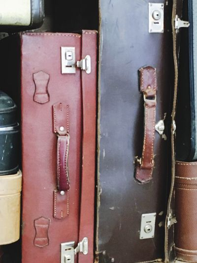 Still Life Luggage Many Abstract Vertical No People Leather Handles Used StillLifePhotography OpenEdit Indoors  Bodrum Airport Vintage Fashion Vintage Luggage Shop Vertical Composition