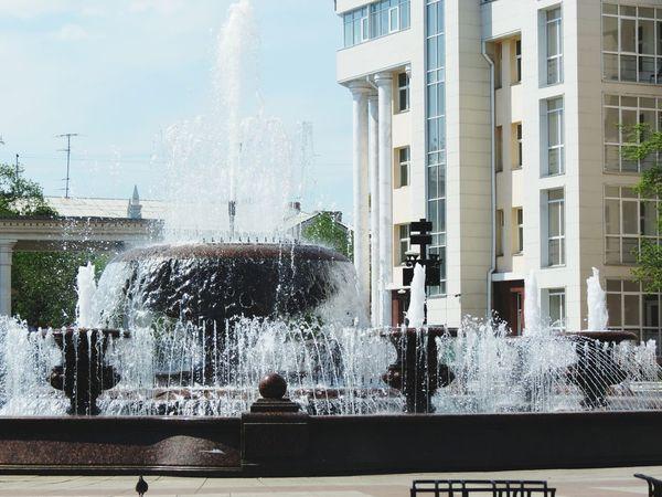 Water Fountain Ulan-Ude