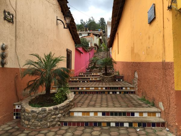 Talpa Stairs Jalisco Escaleras IPhoneography Alley Callejeando Colors