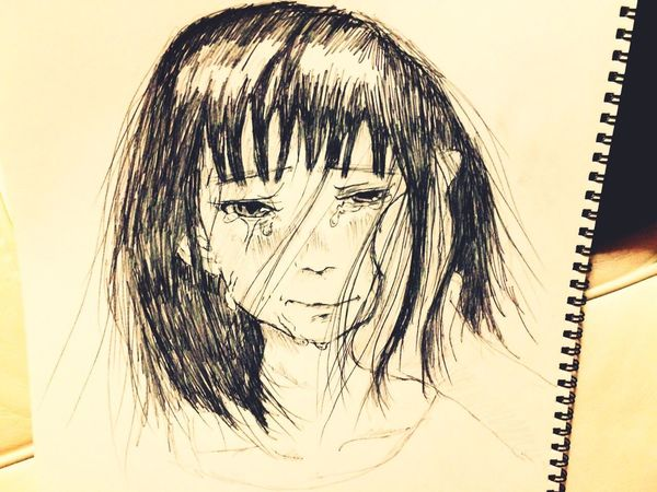 Sketch Drawing Tears