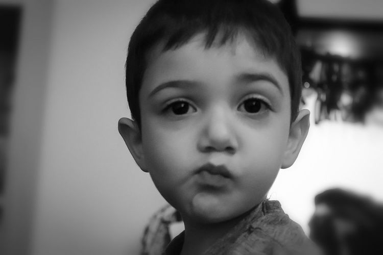 """no comment"" Mashaallah Kid Nephew  My Nephew EyeEm Best Shots EyeEmNewHere EyeEm Gallery EyeEm Selects EyeEm EyeEmBestPics EyeEm Best Edits Eyeemphotography EyeEm Best Shots - Black + White EyeEm Team Photography Photooftheday Photographer Canon CanonEOS200D Portrait Child Childhood Headshot Looking At Camera Human Face"