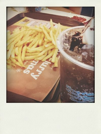My Drug ♥ Fries Cokefloat McDo