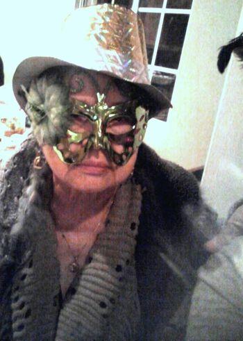 Masked Aunt Aunt  Funny Mask Masked Masks Photo Of A Friend Portrait Portrait Of A Friend Portrait Of A Woman Portrait Photography PortraitPhotography Portraits Woman Portrait